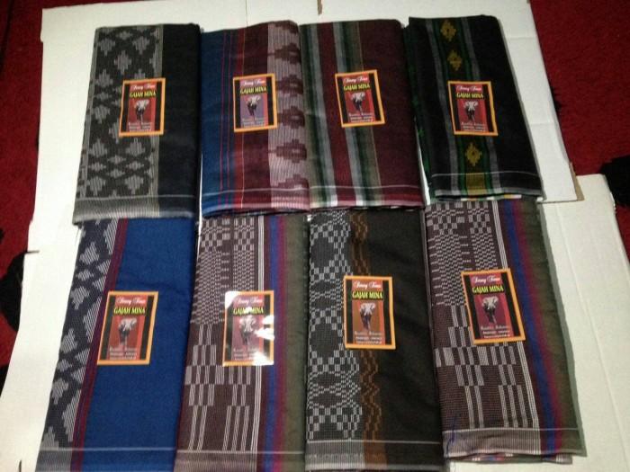Foto Produk sarung tenun doby songket warna dari sarung tenun murah