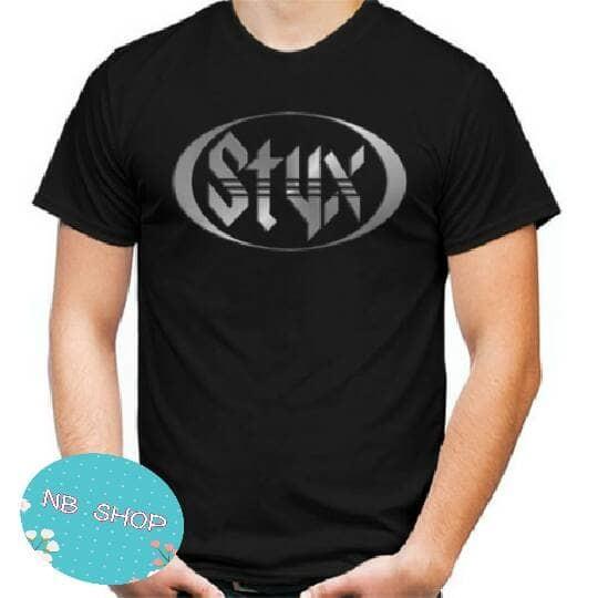harga Kaos  styx logo/tshirt styx/baju distro murah Tokopedia.com
