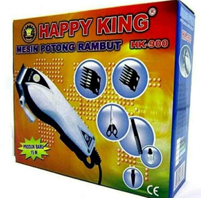 Alat cukur rambut hk.900    cukuran rambut happy king harga ... 8186df83d6