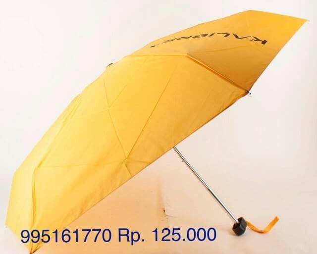 harga Kalibre payung lipat yellow 100cm(d) 20cm(t) art 995161770 idr 125.000 Tokopedia.com