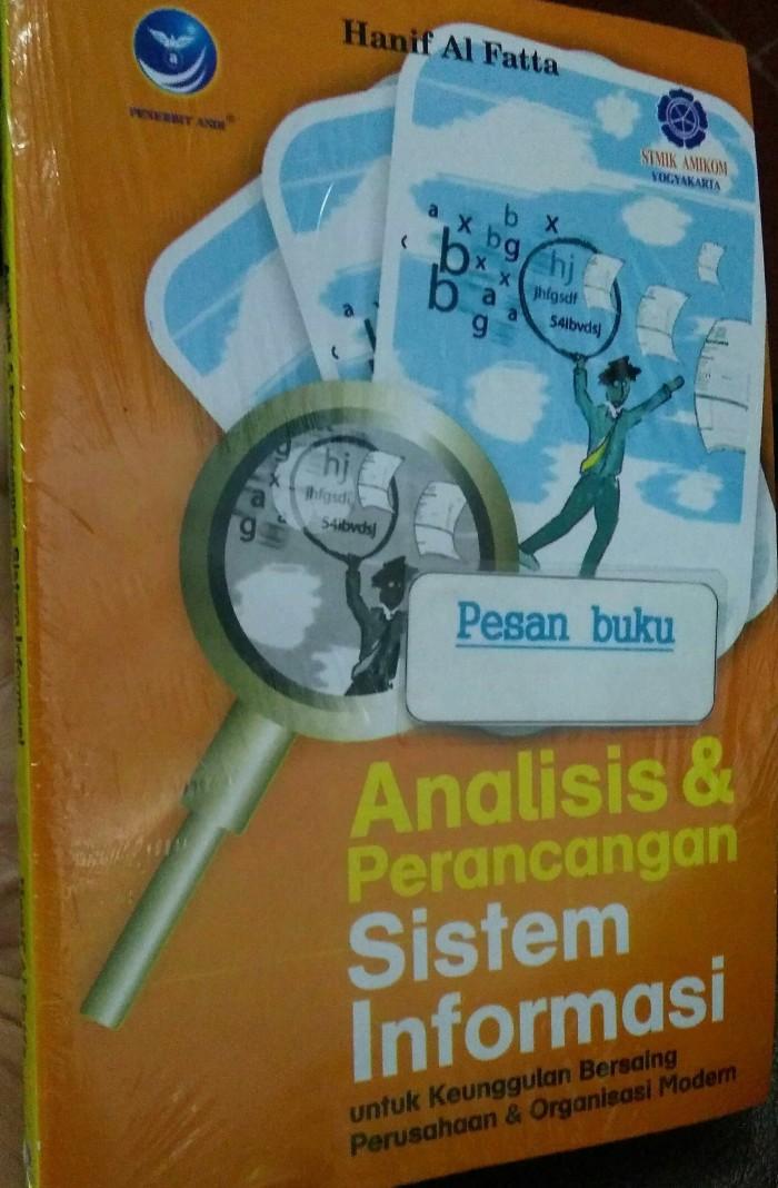 harga Buku analisis & perancangan sistem informasi hanif al fattah Tokopedia.com
