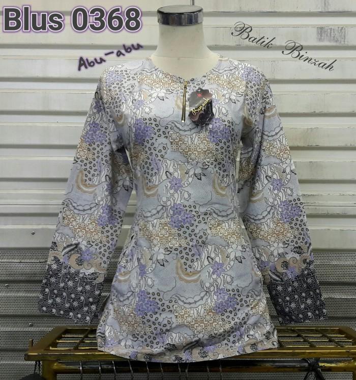 harga Blus lengan panjang batik binzah kode 0368 Tokopedia.com