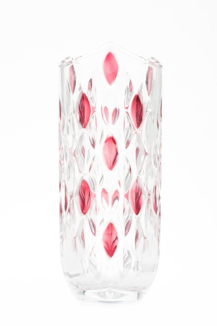 Vas bunga kaca / vas bunga cantik .