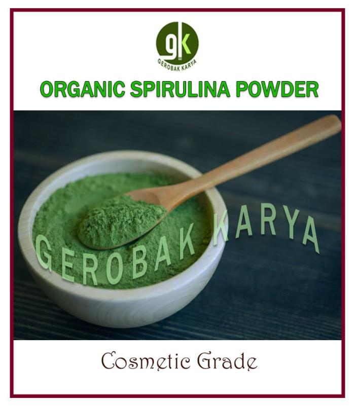 harga Organic spirulina powder 25 gr   cosmetic grade Tokopedia.com