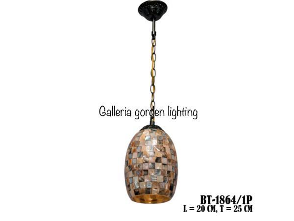 harga Lampu gantung hias dekorasi meja makan minimalis 1864/1 Tokopedia.com