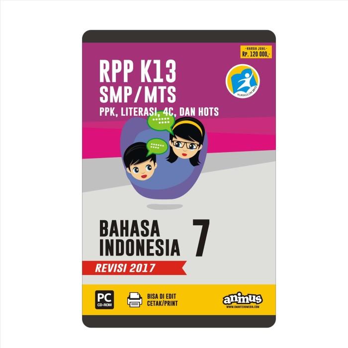 Foto Produk ANIMUS RPP K13 KELAS 7 BAHASA INDONESIA REVISI 2017 dari SMART EDUMEDIA