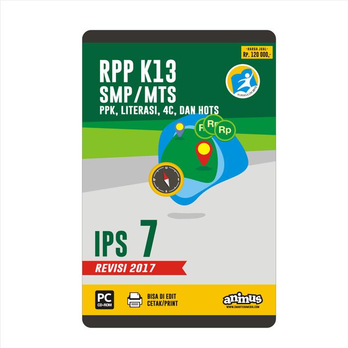 Foto Produk ANIMUS  RPP K13 KELAS 7  IPS   REVISI 2017 dari SMART EDUMEDIA