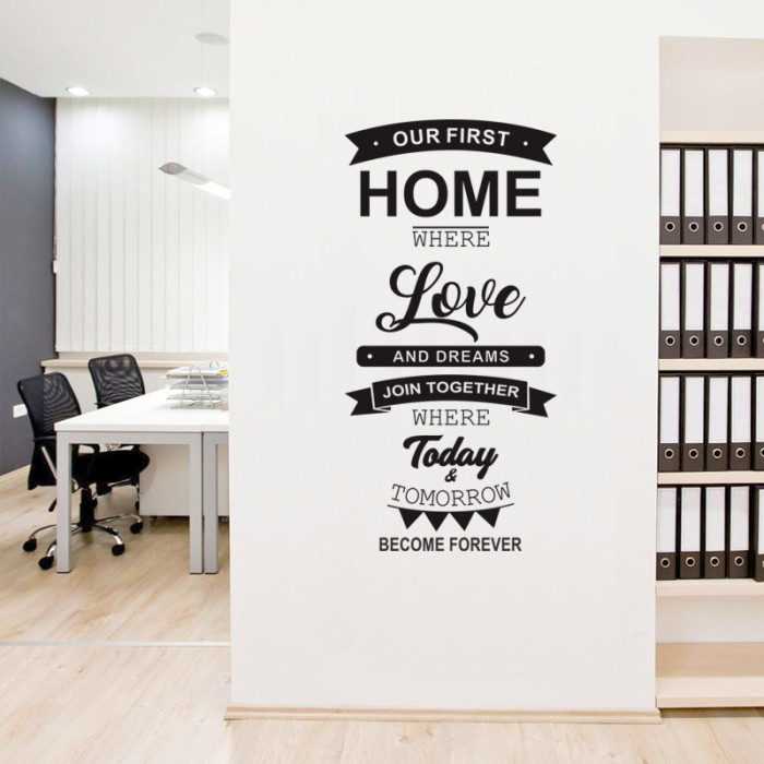 Stiker custom cutting sticker desain sendiri oracal wall dinding mobil