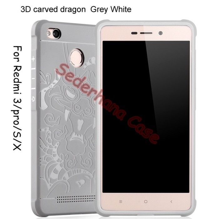 Case Xiaomi Redmi 3 Pro /3s/3x Cocose Dragon Softcase Casing Backcase