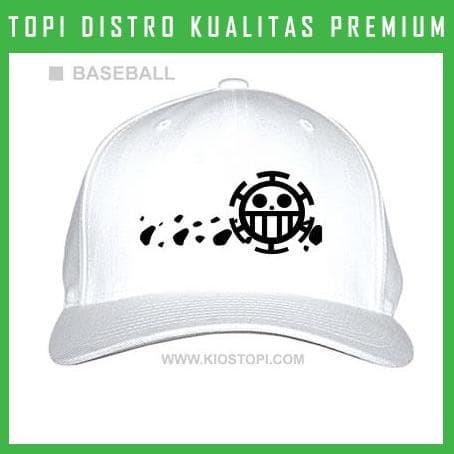 Produk Terlaris Topi Logo Anime One Pice Trafalgar Law - Theme Park ... 9ff2938350