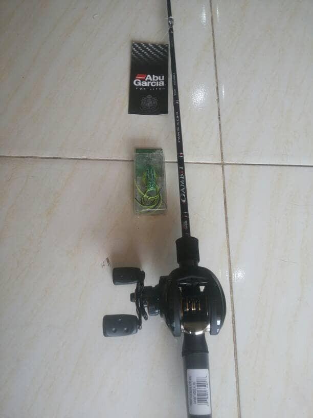 Jual Best Alat Pancing Set Murah BAIT CASTING ABU GARCIA - DKI Jakarta -  Fishing Holic | Tokopedia