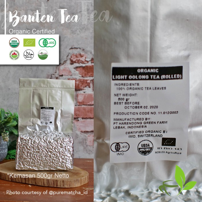 harga Teh oolong organik indonesian organic light oolong tea harendong 500gr Tokopedia.com