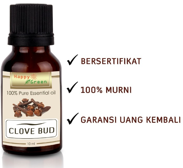 Jual Clove Bud Essential Oil Minyak Bunga Cengkeh 10 Ml