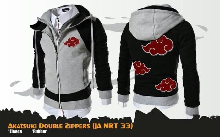 harga Jaket akatsuki double zipper Tokopedia.com
