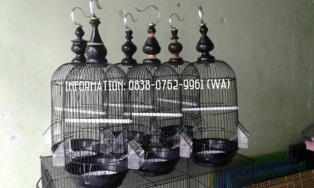 harga Kandang/sangkar burung kecil besi siap gantang (paket full set) Tokopedia.com