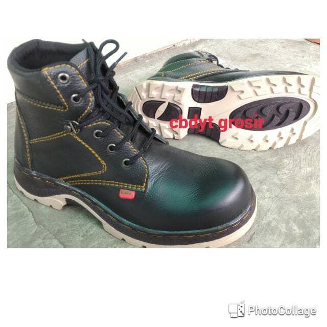 harga Sepatu boot sefty king kulit / nabato grosir Tokopedia.com