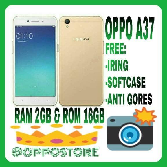 harga Oppo a37 new 2/16gb new rosegold n gold resmi 1 tahun Tokopedia.com