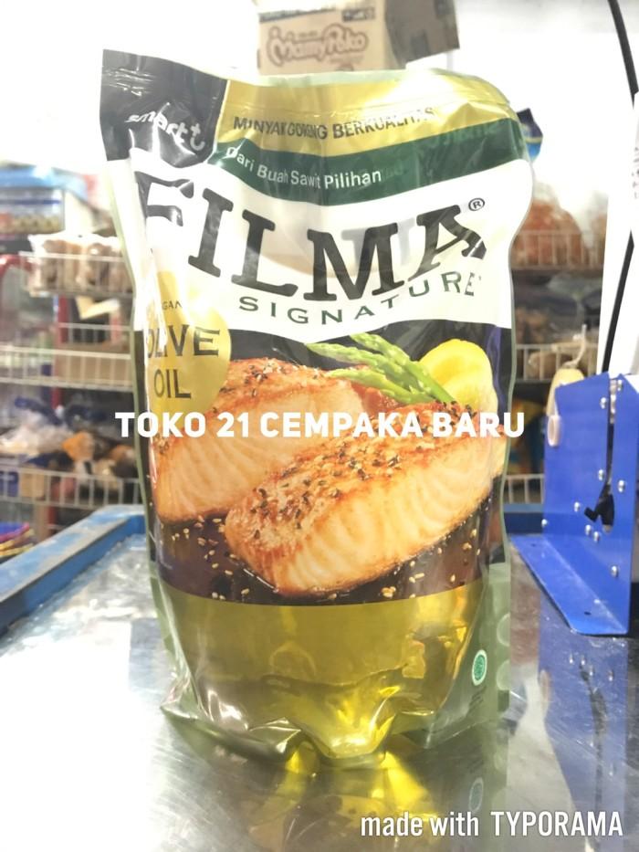 harga Filma signature olive oil 2 liter   minyak goreng refill 2l 2 l 2000 Tokopedia.com