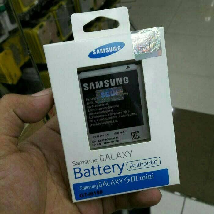 harga Batre baterai battery samsung galaxy s3 mini    i8190 original 100% Tokopedia.com