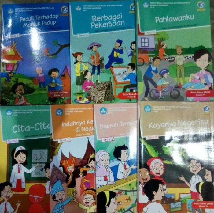 Jual Buku Tematik Kelas 4 Sd Tema 3 4 5 6 7 8 9 Kurikulum 2013 Kota Semarang Toko Buku Cemerlang Tokopedia