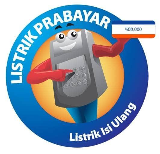 harga Token listrik pln 500 rb Tokopedia.com