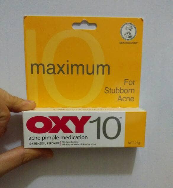 Oxy 10 Obat Jerawat Acne Pimple Medication 25 Gr Kuning
