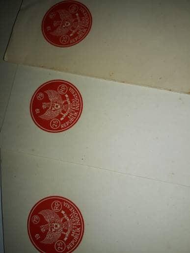 harga Kertas segel singel Tokopedia.com