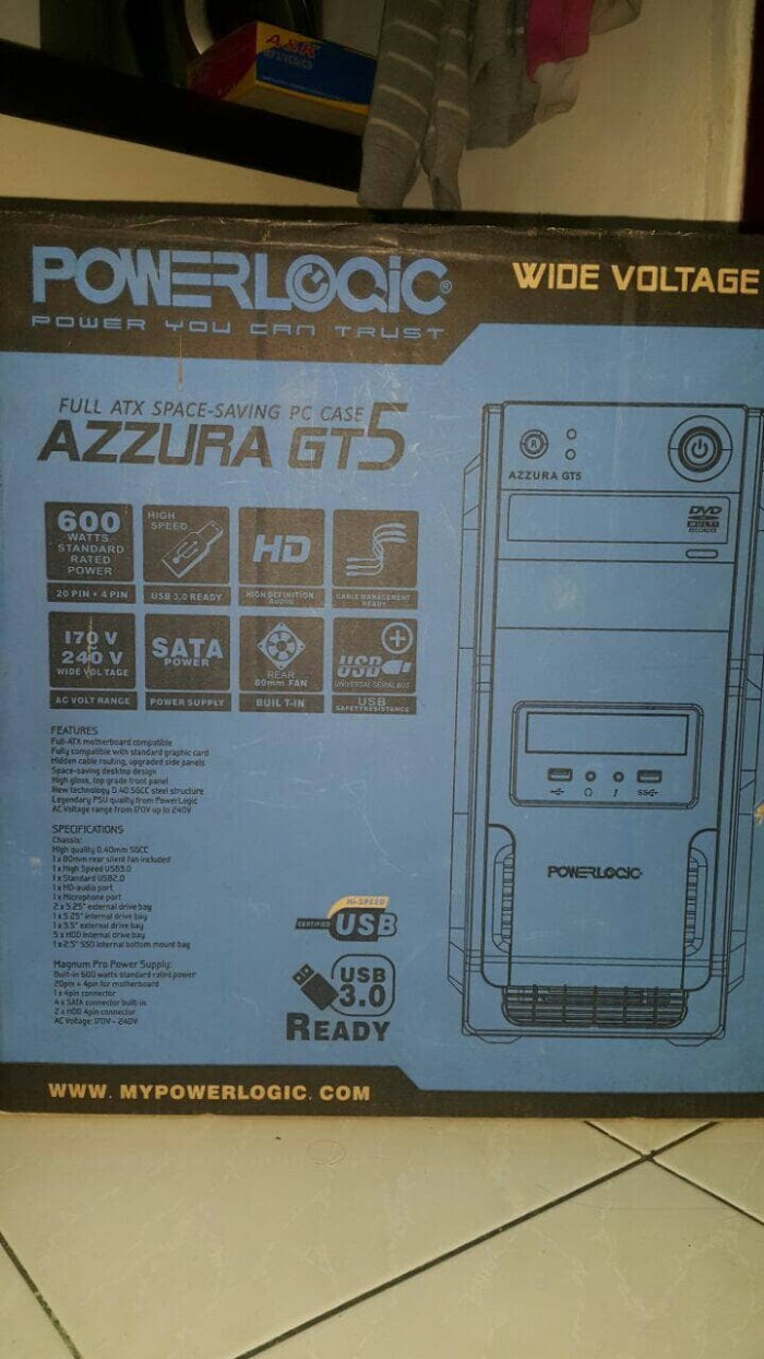 a6e4198ee5b Jual preloved processor AMD A8-7600 radeon R7 ram 4GB free keyboard ...