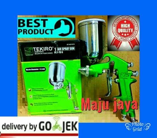 harga Spray gun tekiro f 75 g meiji kompresor angin multipro nlg lakoni 125 Tokopedia.com