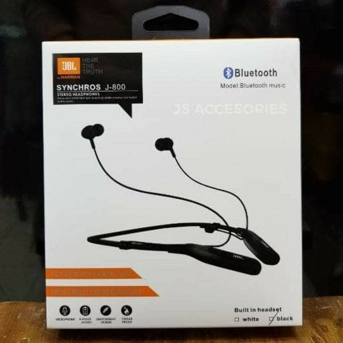 harga Headset bluetooth jbl synchros j-800 stereo earphone wireless Tokopedia.com