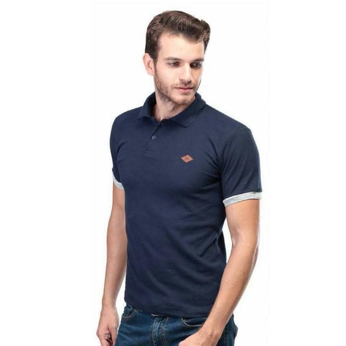 Kaos distro pria polo shirt navy polos original Inficlo SND 260