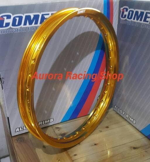 harga Velg - rim comet w shape 17 x 160 warna gold Tokopedia.com
