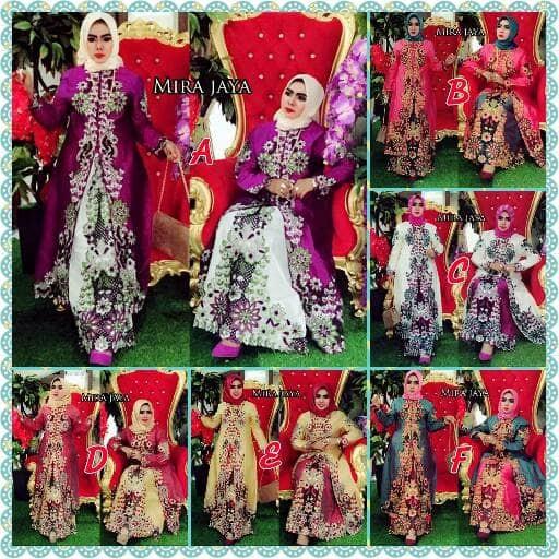 Ak Zelita Couple Ungu Rok Kebaya Kemeja Akiko Fashion Update Source · AK Kebaya Nurmala Bordir