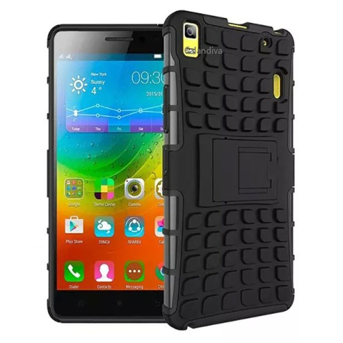 Peonia Kickstand Robotic Case for Lenovo a7000 / a7000