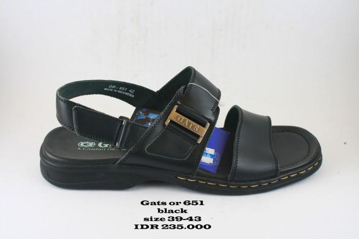 harga Gats or 651 sepatu sendal pria hitam Tokopedia.com