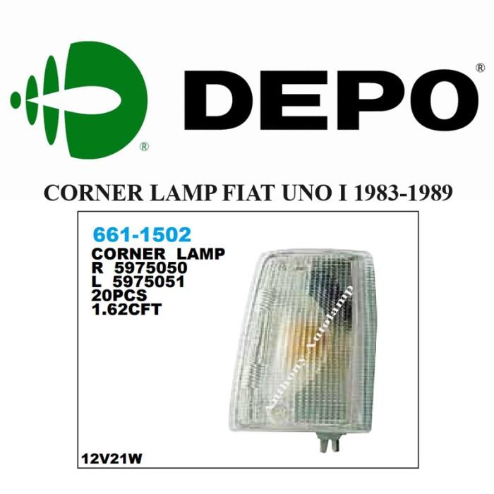 harga Corner lamp fiat uno i 1983-1989 1 set Tokopedia.com