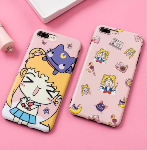 harga Softcase iphone case new sailormoon case iphone 6 6plus 7 7plus 8 8plu Tokopedia.com