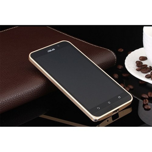 super cute 5d746 92c8f Jual Ultra Thin Aluminium Metal Bumper Case Dual Color for Asus Zenfone 2 -  Sebelas Tech | Tokopedia
