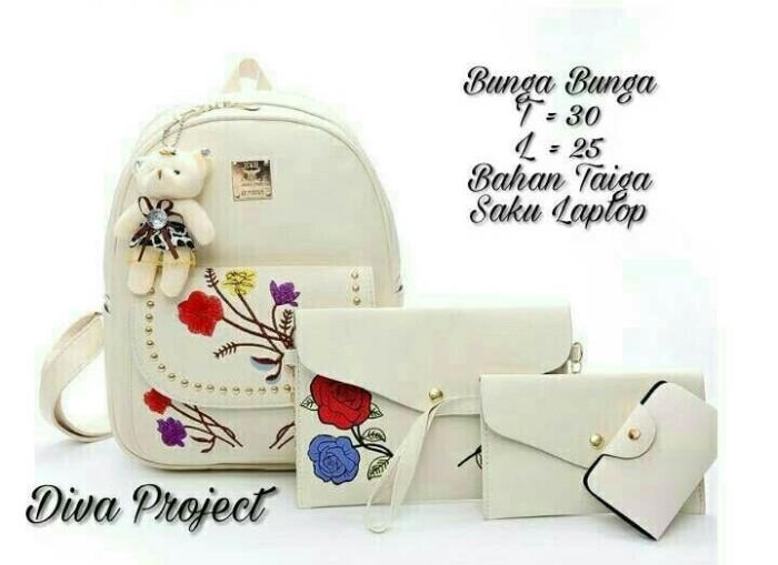 backpack 3in1 bunga