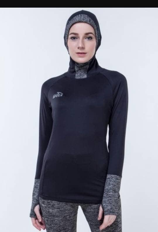 Jual Baju Olahraga Atasan Wanita Muslim Esorra Hijab Cap Baselayer Specs Kab Bandung Barat Sf Julian Tokopedia