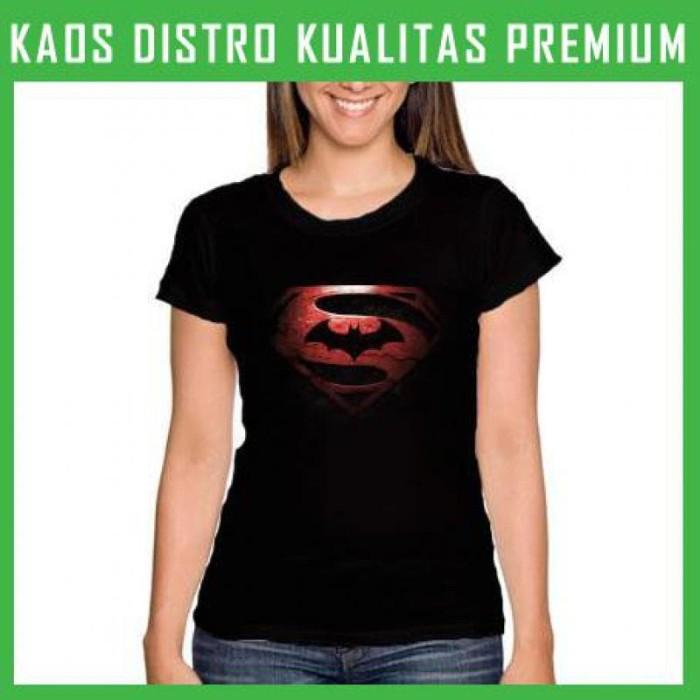 harga Kaos wanita batman vs superman -dawn of justice wnt-ara31 Tokopedia.com