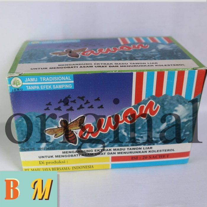 Tawon Liar Mengatasi Asam Urat Kolestrol Pegal Linu 1 Box 20sachet Source · Tws tawon liar serbuk original obat jamu Asam Urat