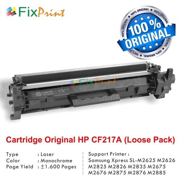 harga Hp 17a Black Original Laserjet Toner Cartridge (cf217a) Loose Pack Tokopedia.com