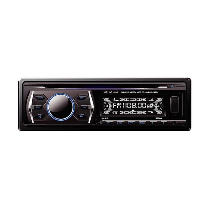 harga Ultra linear ul-312 dvd hitam head unit single din Tokopedia.com