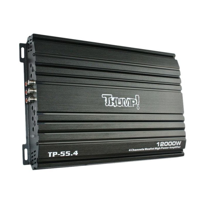 Jual Thump Tp-55.4 Mosfet Power Amplifier [4 Channel] Harga Promo Terbaru
