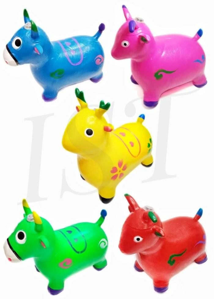 Foto Produk Jumping Animal / Kuda Kudaan Karet ( ada musik dan lampu ) dari istanatoys.net