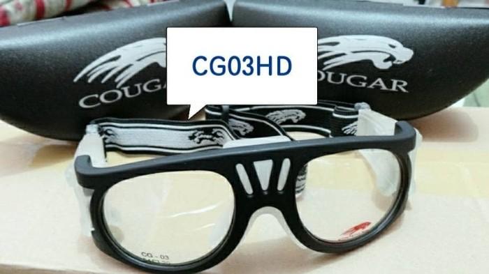 Jual Kacamata Olahraga Dengan Lensa minus (Paket Cougar Sport ... 3760d217c5