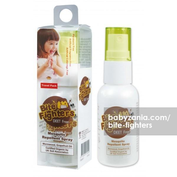 Bite Fighters Mosquito Repellent Spray 25ml T2909