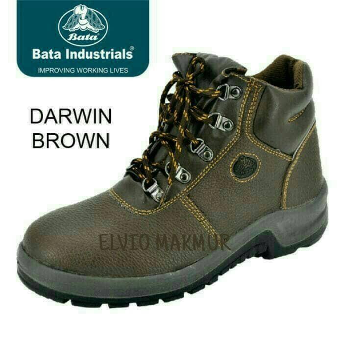 harga Sepatu safety merk bata/darwin brown Tokopedia.com
