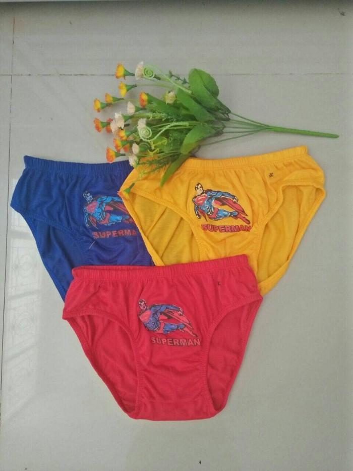harga 3pcs celana dalam anak cowok/cd anak sd Tokopedia.com